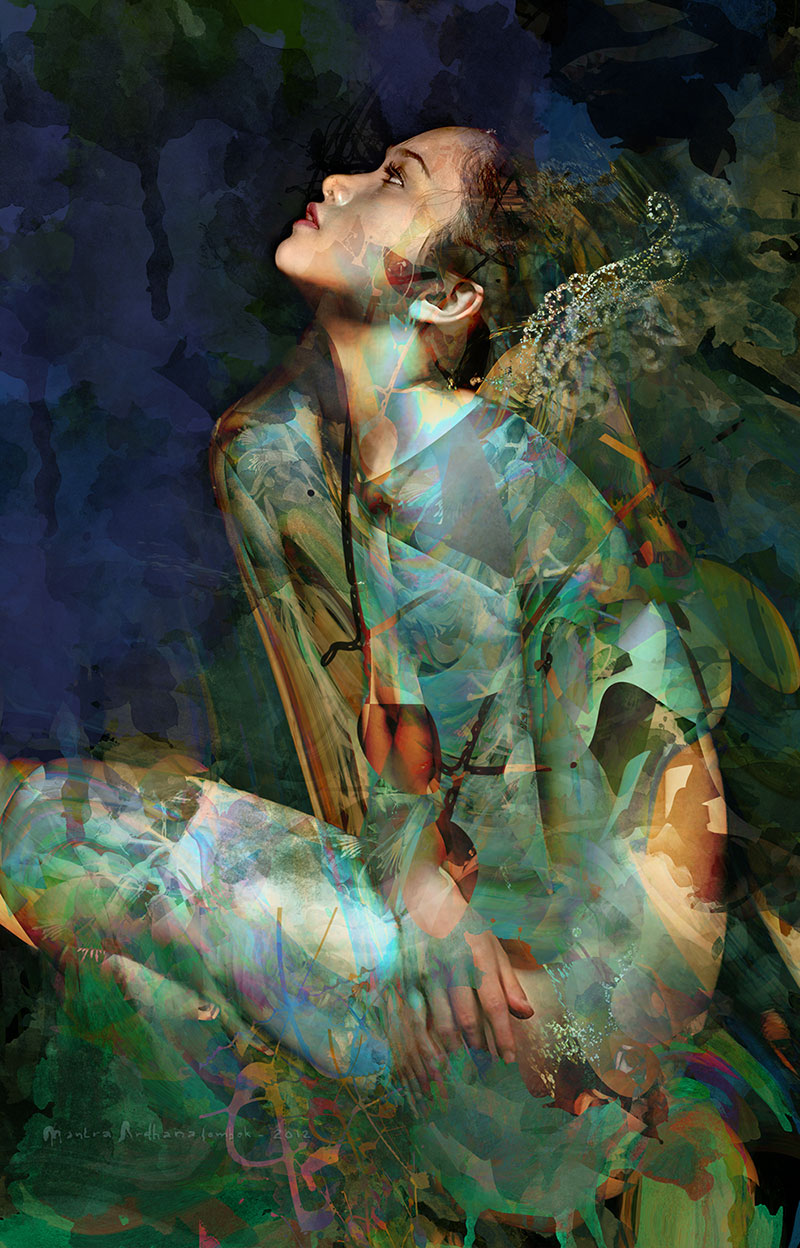 Dream of the angel by Mantra Ardhana