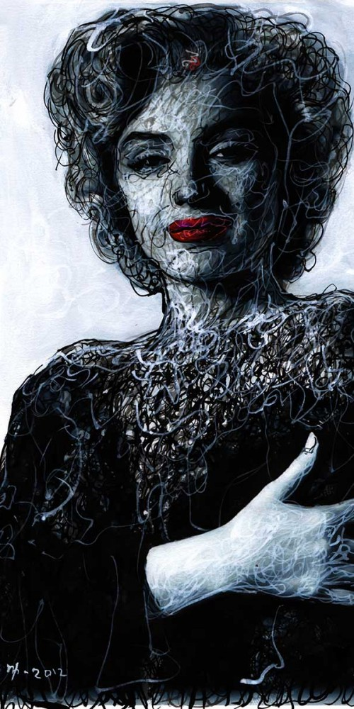 Marilyn Monroe III by Mantra Ardhana